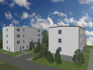 Projekt przebudowa budynków wielorodzinnych w Gąskach